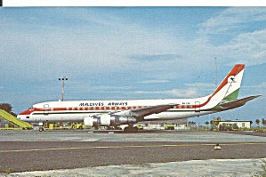 Maldives Airways Dc-8-51 8q-pnc P34293