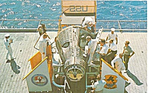 Gemini 4 Space Craft On The Uss Wasp P34302
