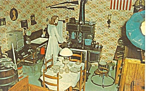 Minden NE Pioneer Village The Kitchen of 1910 p34324 (Image1)