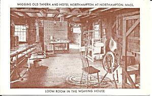 Northampton MA Wiggins Tavern Loom Room p34340 (Image1)