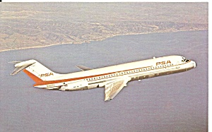 Psa Pacific Southwest Airlines Dc-9-31 N982ps P34343