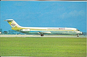 Bwia International Dc-9-51 9y-tfh P34351