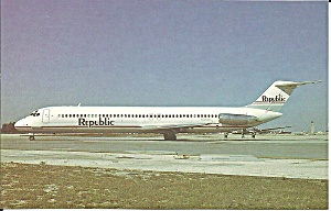 Republic Airlines Dc-9-51 N780nc P34357