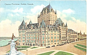 Montreal Canada Chateau Frontenac P34359