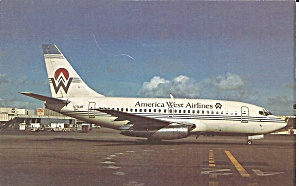 America West Airlines 737-130 N701aw P34383