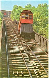Duquesene Heights Incline RR Postcard p3438 (Image1)