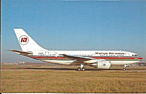 Kenya Airways Airbus A310-204 5y-ben P34393