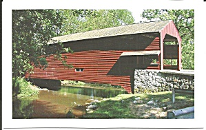 Lancaster Cty Pa Shearer S Covered Bridge P34408