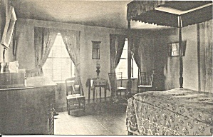 Portland Me Longfellow S Home Sleeping Room P34411