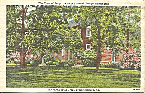 Fredericksburg Va Home Of Betty Washington P34418