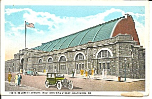 Baltimore Md Fifth Regiment Armory P34426