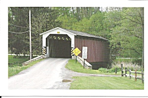 Lancaster Cty Pa White Rock Covered Bridge P34435