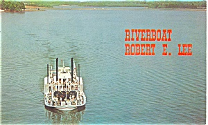 Steamboat Robert E Lee Postcard p3444 (Image1)