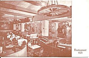 Washington DC Restaurant 823 Postcard p34481 (Image1)