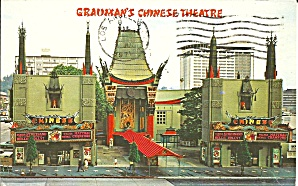 Los Angeles Ca Grauman S Chinese Theatre P34508