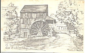 Old Sturbridge Village Ma Wright Grist Mill P34509