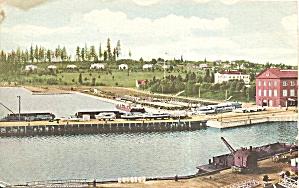 Harbor Scene Postcard p34526 (Image1)