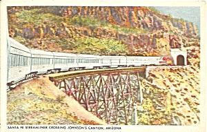 Sante Fe Streamliner Johnson s Canyon AZ p34545 (Image1)