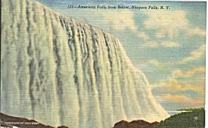 Niagara Falls American Falls From Below  p34563 (Image1)