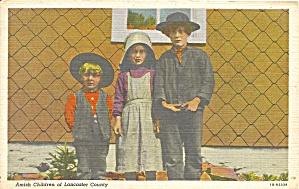 Lancaster Cty, PA Amish Children p34572 (Image1)