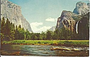 Yosemite ValleyCA  El Capitan Bridalveil Falls p34582 (Image1)