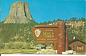 Devils Tower National Monument Wy P34595