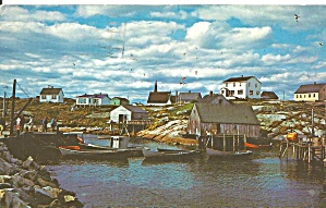 Peggy's Cove Nova Scotia Canada P34642