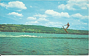 Water Skier at Finger Lakes New York p34644 (Image1)