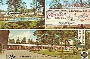 Folkston, GA Charlton Motel  p34661 (Image1)