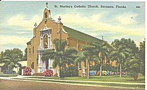 Sarasota Fl St Martha S Catholic Church P34674
