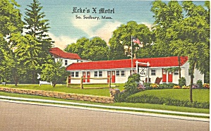 Sudbury MA Erke s X Motel P34677 (Image1)