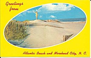 Beach Scene Alantic Beach North Carolina p34735 (Image1)