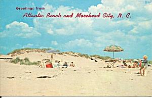 Beach Scene Atlantic Beach North Carolina p34737 (Image1)