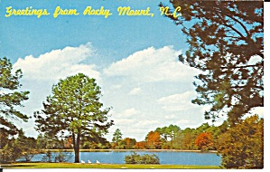 Rocky Mount Nc City Park Lake P34748