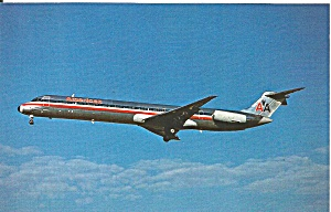 American Airlines Md 80 P34780