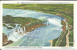 Aerial View of Niagara Falls p34783 (Image1)