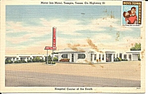 Temple Texas Motor Inn Motel p34816 (Image1)
