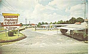 Fayetteville NC Highland Court Motel p34817 (Image1)