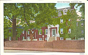 Annapolis MD Carvel Hall Hotel p34838 (Image1)