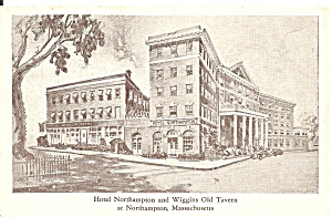 Northampton MA Hotel and Wiggins Tavern p34877 (Image1)