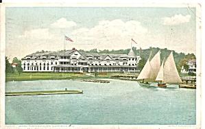 Ste Claire River MI  Garnde Pointe Hotel 1908 p34879 (Image1)
