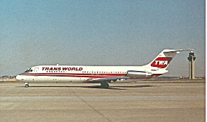 Twa Trans World Airlines Dc-9--32 N996z P34923