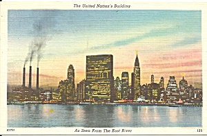 Uinted Nation S Building New York City P34925