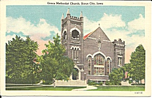 Grace Methodist Church Sioux City Ia P34938