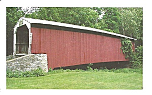 Risser S Mill Covered Bridge Near Mt Joy Pa P34960
