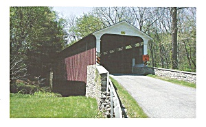 Mercer S Mill Covered Bridge Near Atglen Pa P34969
