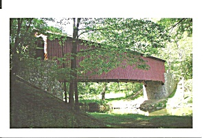 Kurtz S Mill Covered Bridge Lancaster Cty Central Park Pa P34973