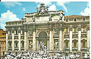 Trevi Fountain Rome Italy P34985