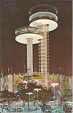 Towers New York Exhibit Ny 1964 World S Fair P34987