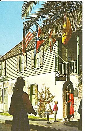 St Augustine FL Oldest House p34988 (Image1)